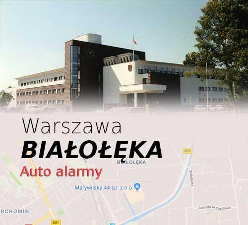 Warszawa Białołęka autoalarmy