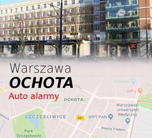 Warszawa Ochota autoalarmy