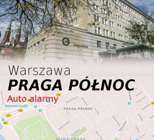 Warszawa Praga Północ autoalarmy