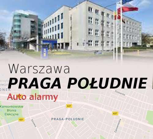 Warszawa Praga Południe autoalarmy
