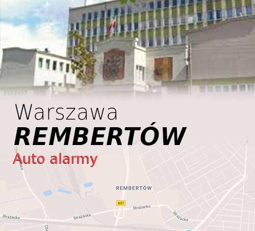 Warszawa Rembertów autoalarmy