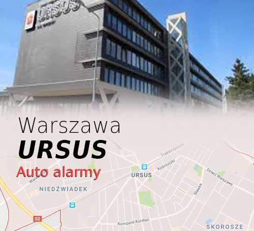 Warszawa Ursus autoalarmy