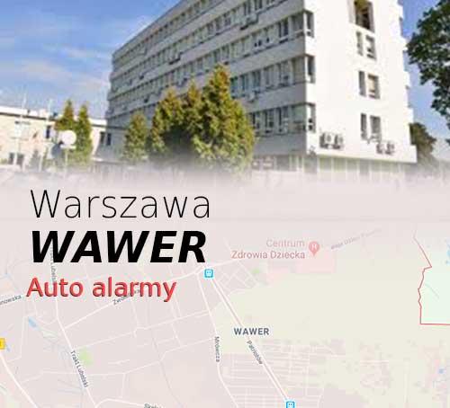 Warszawa Wawer autoalarmy