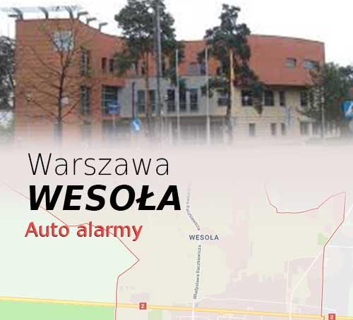 Warszawa Wesoła autoalarmy