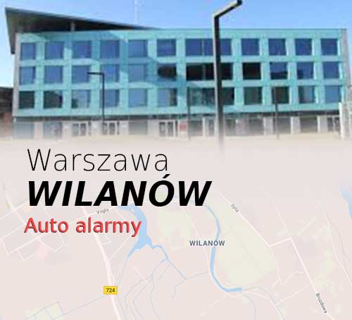 Warszawa Wilanów autoalarmy