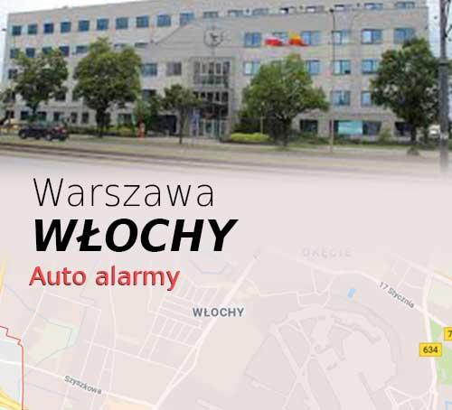 Warszawa Włochy autoalarmy