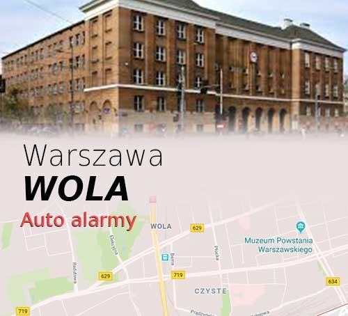 Warszawa Wola autoalarmy